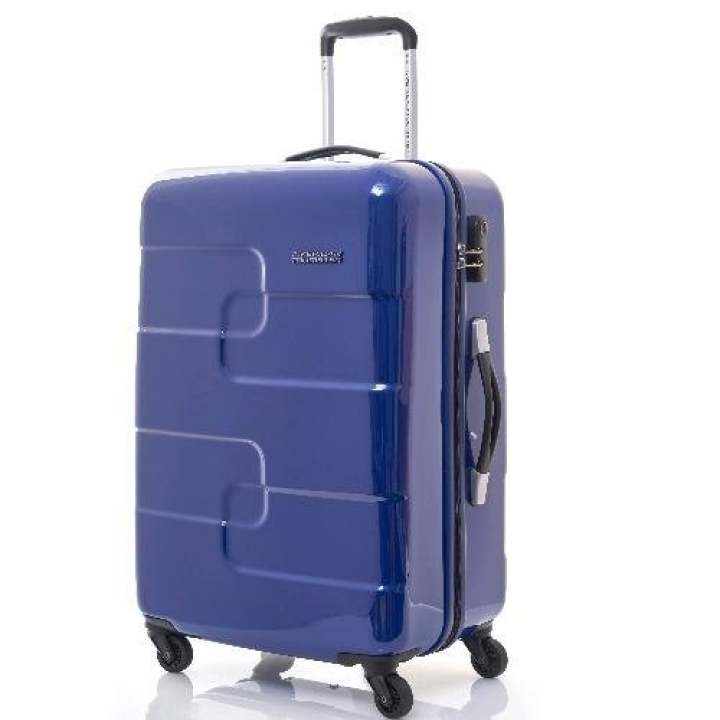 American Tourister Puzzle Cube Spinner 78 (Midnight Blue)