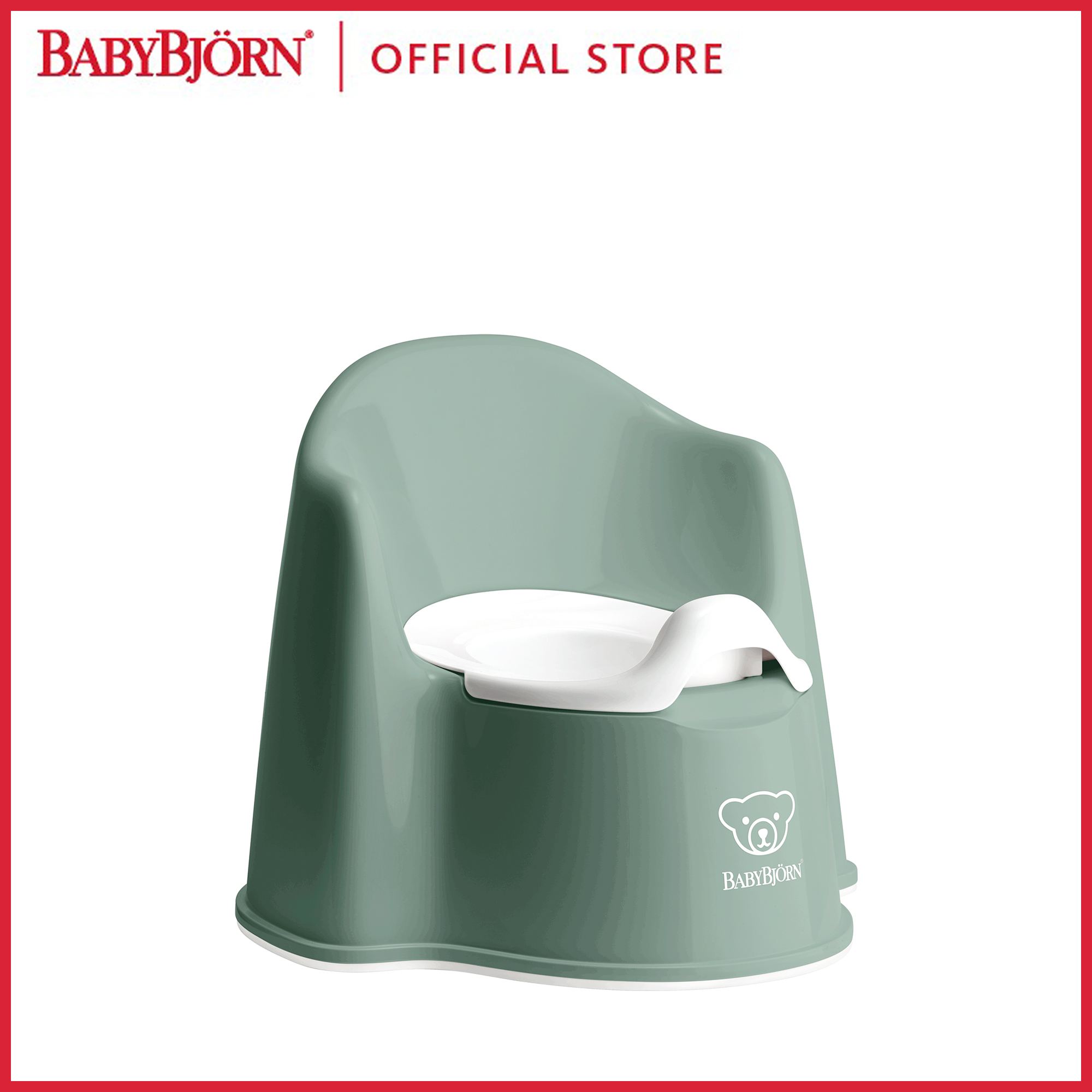 Baby Bjorn Potty Chair Deep Blue//White