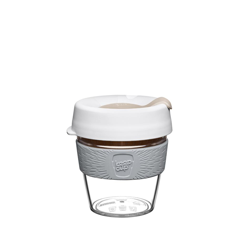 227ml 8oz Spring KeepCup Original Clear Edition Reusuable Coffee Cup Travel Mug