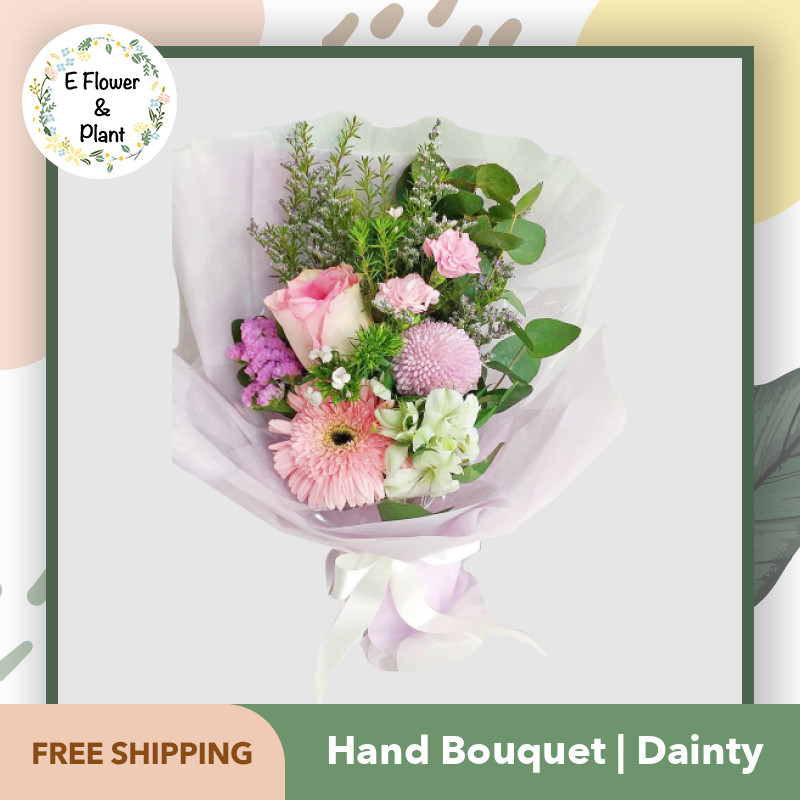Hand Bouquet Dainty Next Day Delivery 10am 6pm Lazada Singapore