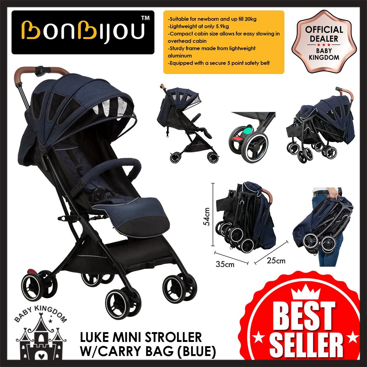 Bonbijou Luke Mini Stroller w/Carry Bag