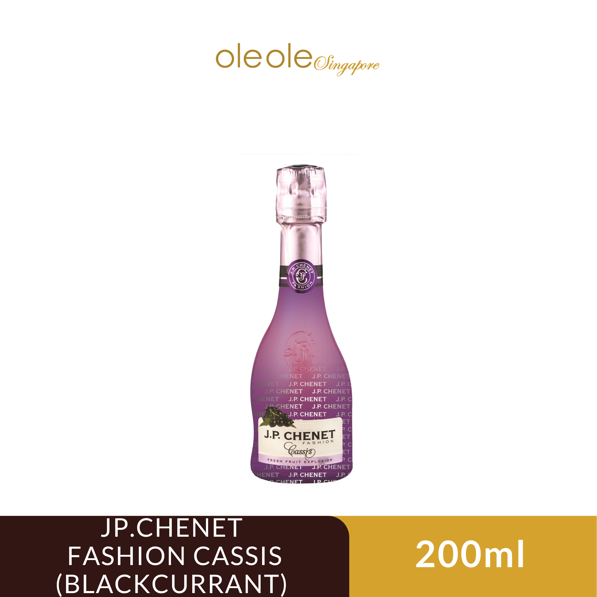 Jp Chenet Fashion Cassis Blackcurrant 200ml Lazada Singapore