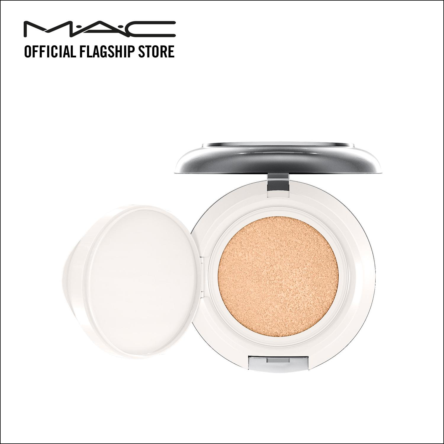 Phấn nước MAC Lightful C + Coral Grass SPF 50/PA++++ Quick Finish Cushion Compact-Filled Compact 12g