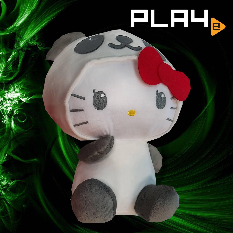 Hello Kitty 18  Plush - Panda Outfit