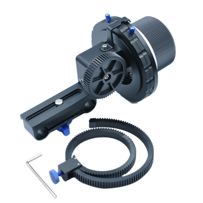 DSLR Camera a B Hard Stops F3 Follow Focus Camera Focus Adjuster for 5D2 5D3 6D 600D D7100 SLR Cameras