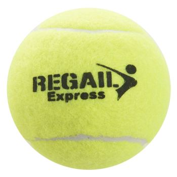 Regail 12Pcs Tennis Ball High Elasticity Training Ball Natural Rubber Competition Tennis Ball