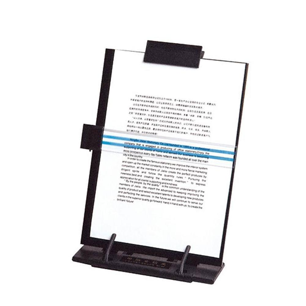 Table Reading Shelves Angles-adjustable Steel Book Files Holder Stationery