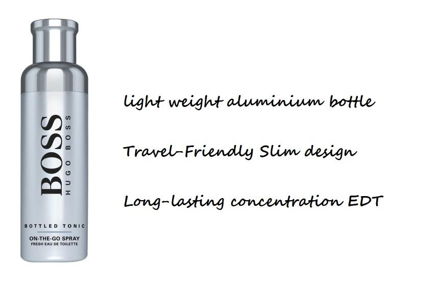 Hugo Boss Bottled Tonic On-The-Go Spray 100ml Fresh EDT Spray for Men [100%  Authentic & Brand New Fragrances] | Lazada Singapore