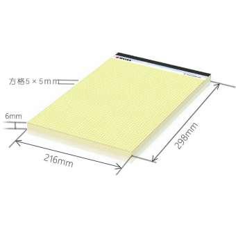 แนวอเมริกันสมุดรายงาน Legal Pad สามารถฉีกขาดได้ธุรกิจสีเหลือง Toyoko บันทึกเอกสารฉบับร่างนักเรียนสะดวกสมุดมีเส้น A4A5 KAISA Vitas เพิ่มความหนาเปิดบนตารางเส้นแนวนอนกระดาษบางนักศึกษานักเรียน