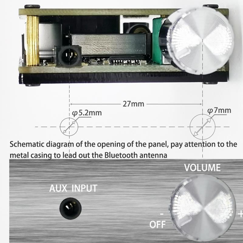 HIFI Wireless TPA3116 Digital Power Audio Amplifier Board