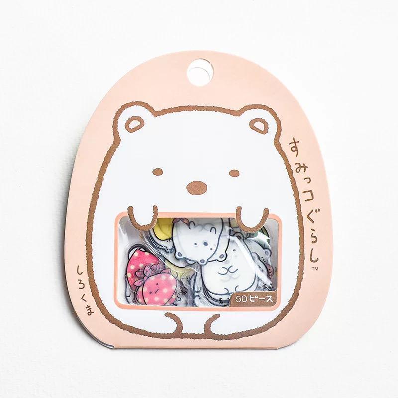 50pcs Kawaii Cute Stickers Pack Korean Pvc Sticker Vinyl Cartoon Gift Design A Lazada Singapore