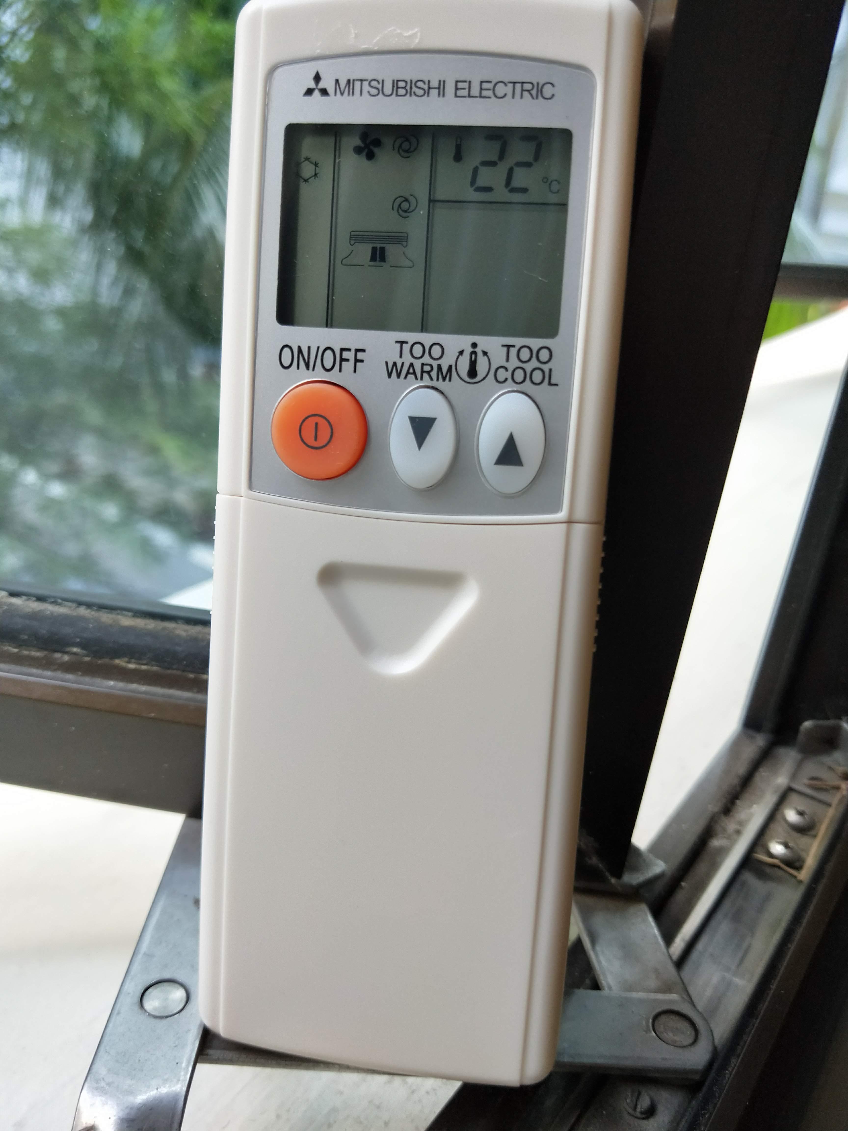 MITSUBISHI AirCon Remote Control controller KM09G brand NEW