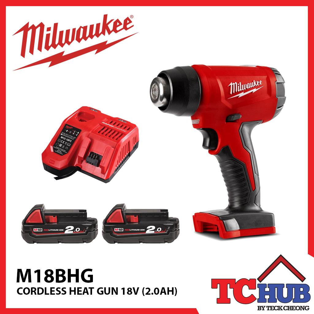 Milwaukee M18bhg Cordless Heat Gun Kit 2 0ah Lazada Singapore