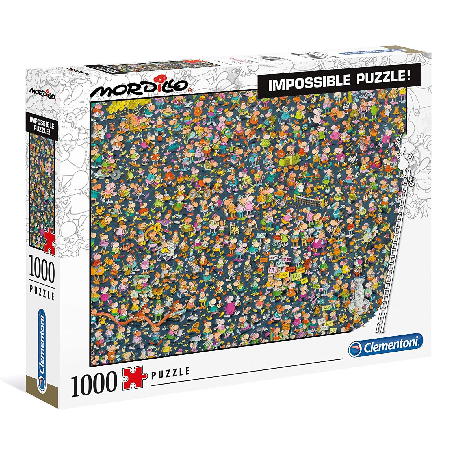 Clementoni 1000Pcs Jigsaw Puzzle  Mordillo Impossible