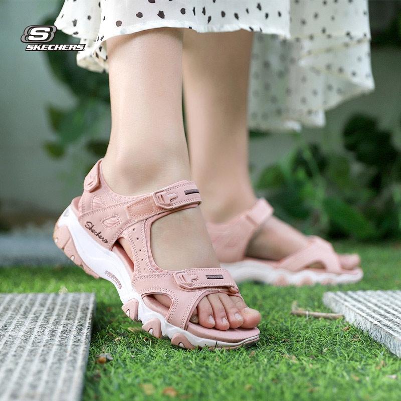 página Arancel colisión  LuckyLeaf Sports』SKECHERS 2020 summer new women's shoes Velcro breathable  sandals 32999-LTPK   Lazada Singapore