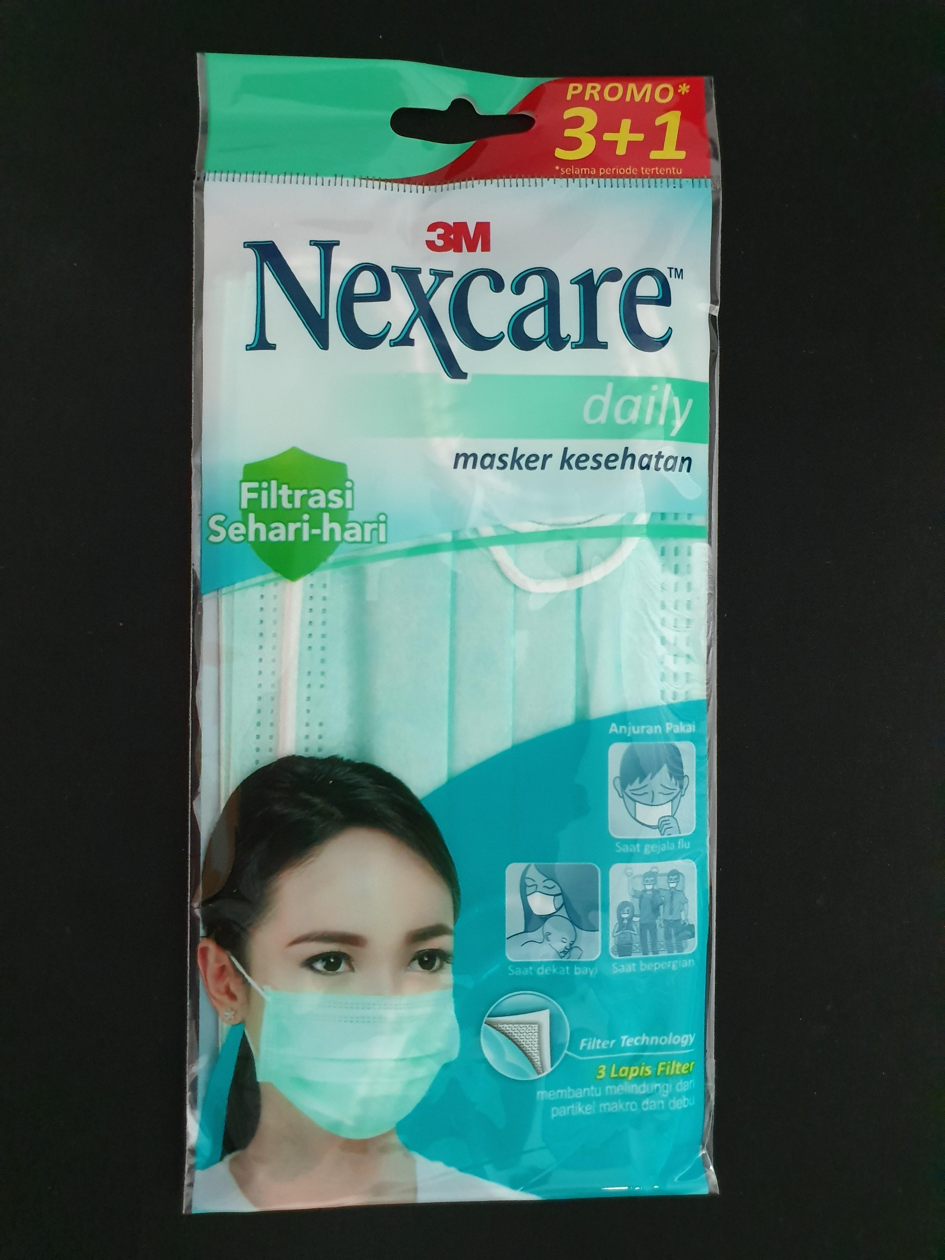 3m nexcare masque