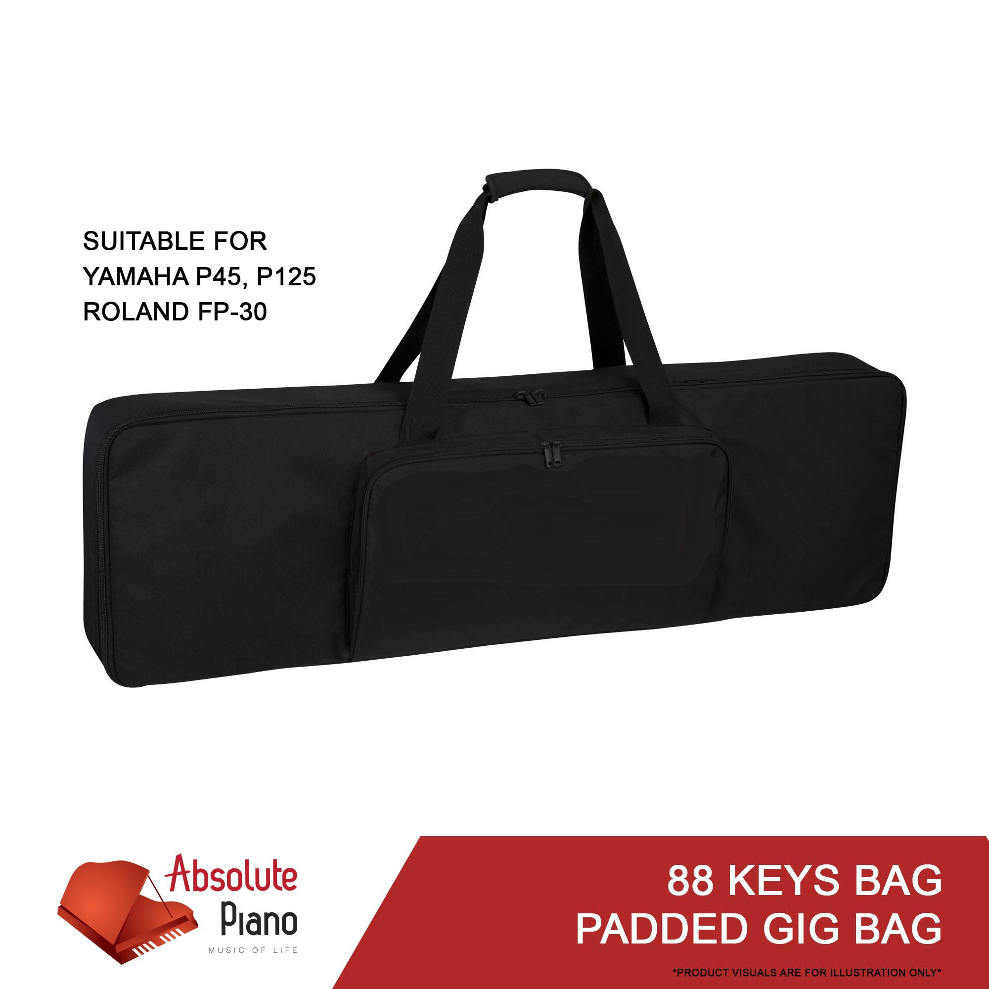 88 Keys Padded Gig Bag Portable Digital Piano Keyboard 88 Keys Padded Carrying Bag For Yamaha P 45 Yamaha P 125 Roland Fp 30 Absolute Accessories Ma1 The Music Works Store Electronic Instrument Lazada Singapore