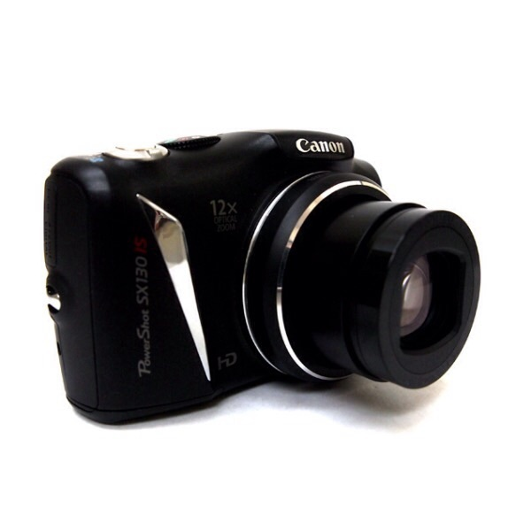 Canon Powershot SX130 IS Digital Camera 12MP, 12X ZOOM REFURBISHED AS GOOD AS NEW ! CANON WHITE BOX PACK.