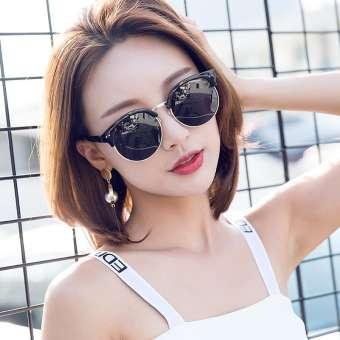 2020 ใหม่ GM แว่นกันแดดโพลาไรซ์แว่นกันแดดหญิงป้องกันรังสี UV จากแสงแดด INS เสื้อผ้าแฟชั่น สไตล์เกาหลีน้ำหน้ารูปกลมแว่นตา 2019 ใหม่