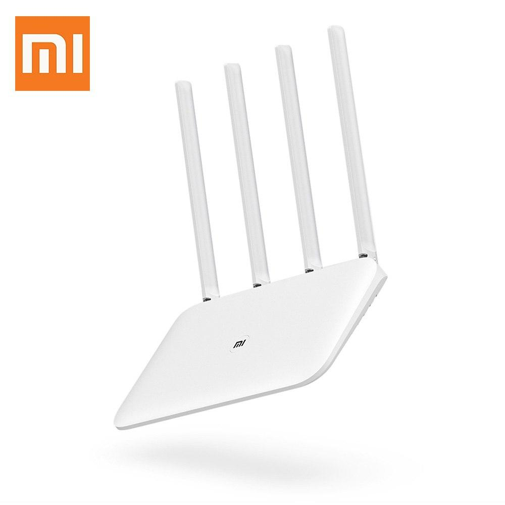 Mi Router 4 Wireless WIFI Router Dual Band 1167Mbps 2.4 / 5GHz 128MB RAM with Four Extenal Antennas YM Store