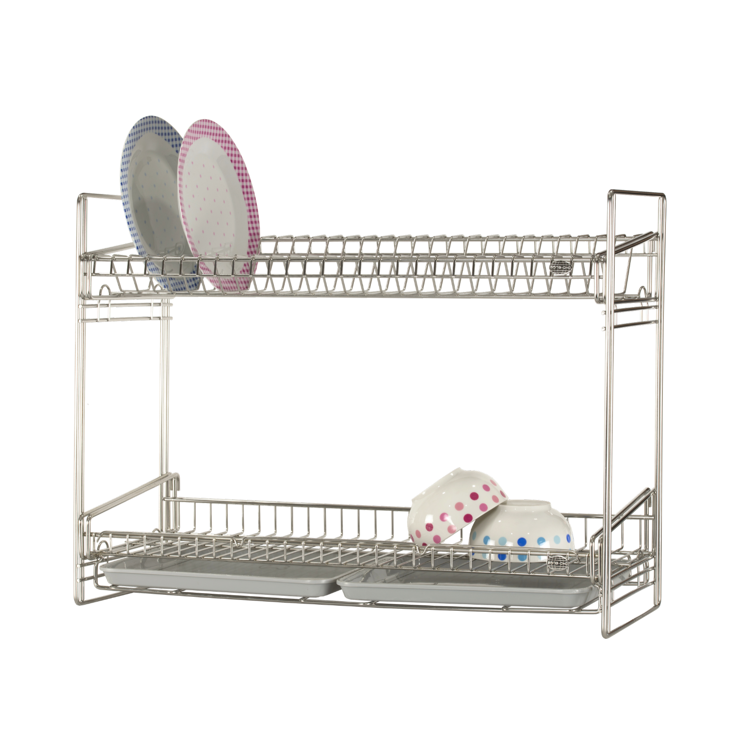 Song Cho 18 8 Stainless Steel 2 Tier Dish Rack Table Top 15331a1bs Kd02mt Lazada Singapore