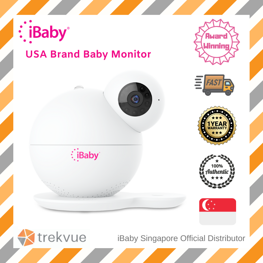 Ibaby M7 Lite 1080P Video WiFi Baby Monitor 3rd Generation with Air Quality Baby