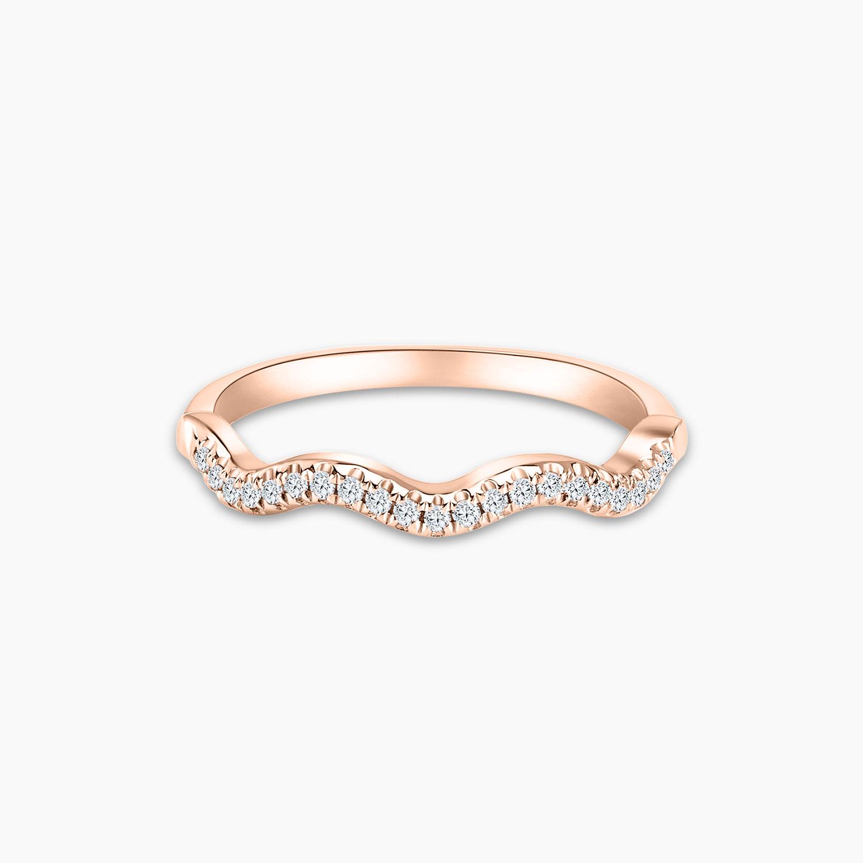 Love & Co Charmes Infinity Diamond Ring - Rose Gold
