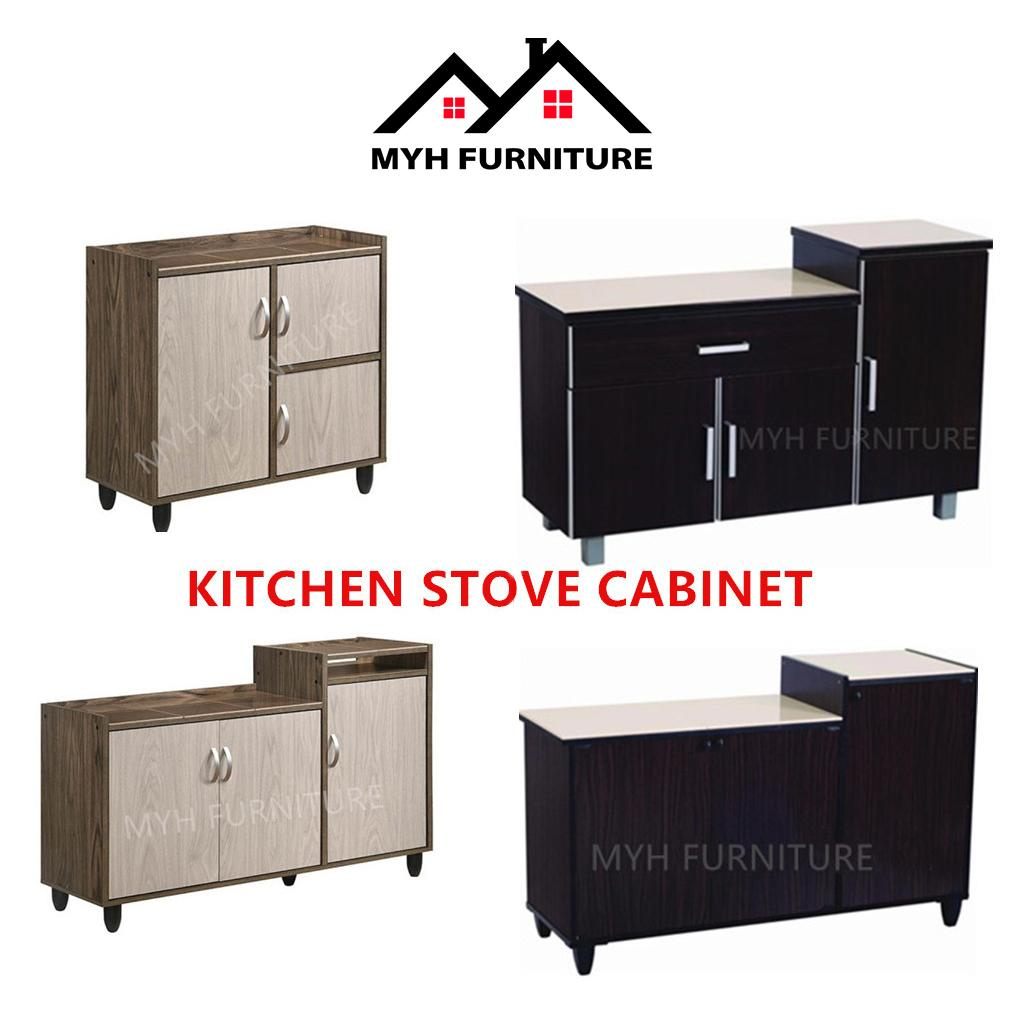 Kitchen Cabinet Stove Gas