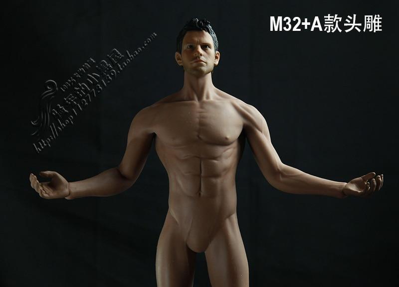 TBLeague 1//6 Steel Skeleton Male Muscular Seamless Body M30 M31 M32 M33 M34 M35