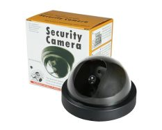 Dummy Security Camera LED Blink Light Realistic Looking