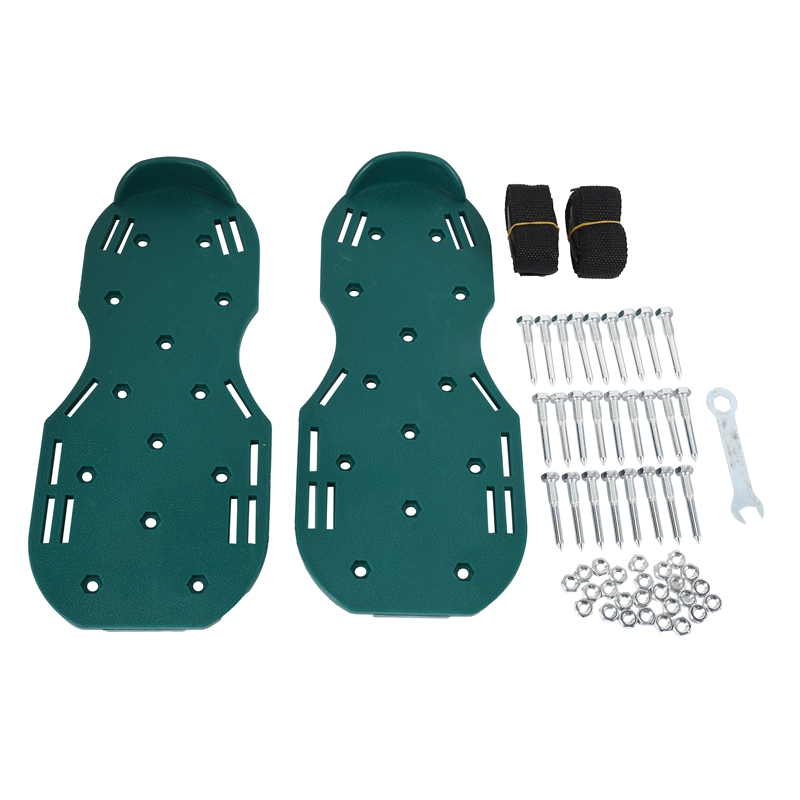 Gardening Walking Revitalizing Grass Lawn Aerator Sandals Shoes Nail Shoes Tool Nail Cultivator Yard thumbnail
