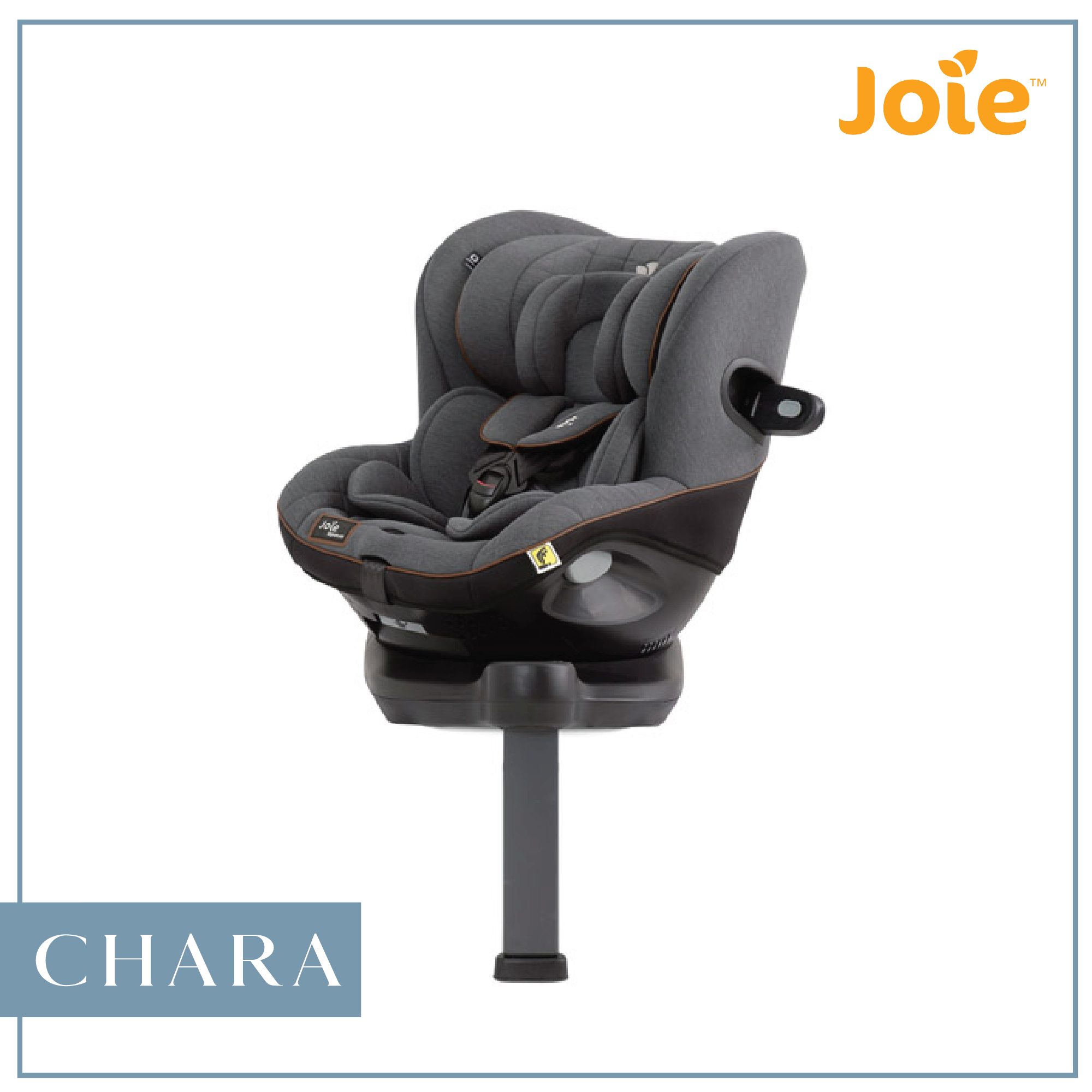 Joie Spin 360 0+//1 Signature Collection Rotating Car Seat Isofix BNIB