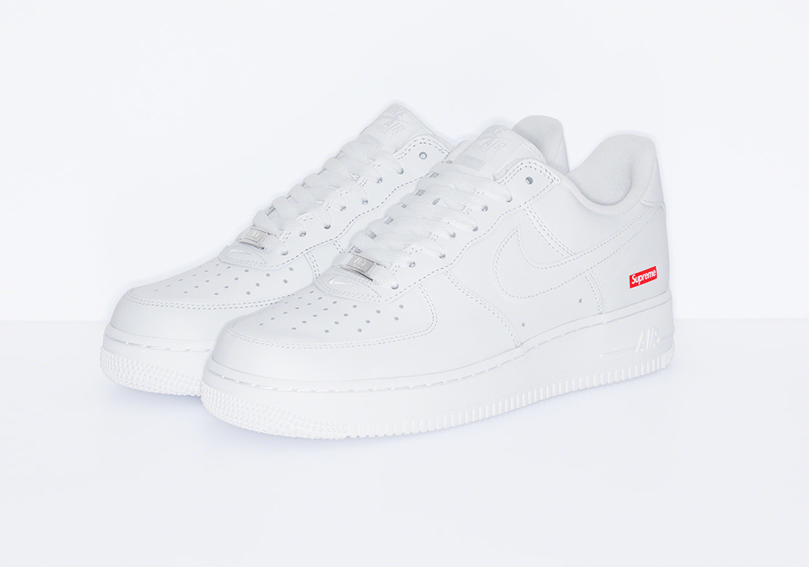 Nike x Supreme Air Force 1 White