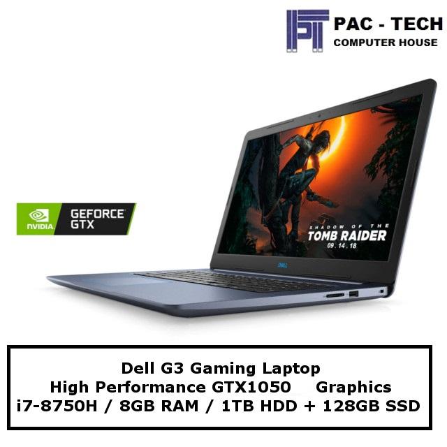 Ready Stock Dell G3 Gaming Laptop I7 8gb Ram Upgradable Gtx1050 1tb Hdd 128gb Ssd Lazada Singapore