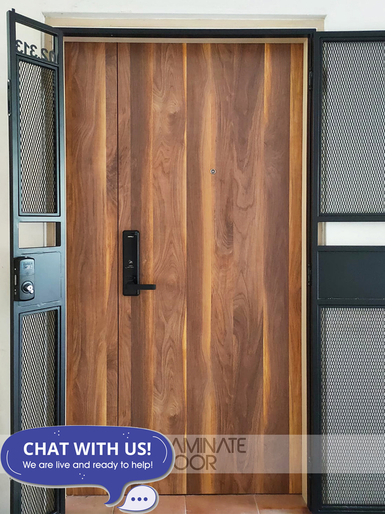 HDB Double Leaf Fire Rated Main Door