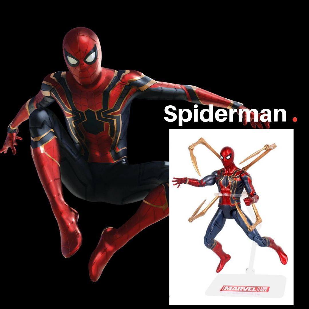 Cheapest Marvel Endgame Limited Premium Figurines Best Deal (IronMan Capt American Spiderman War Machine)
