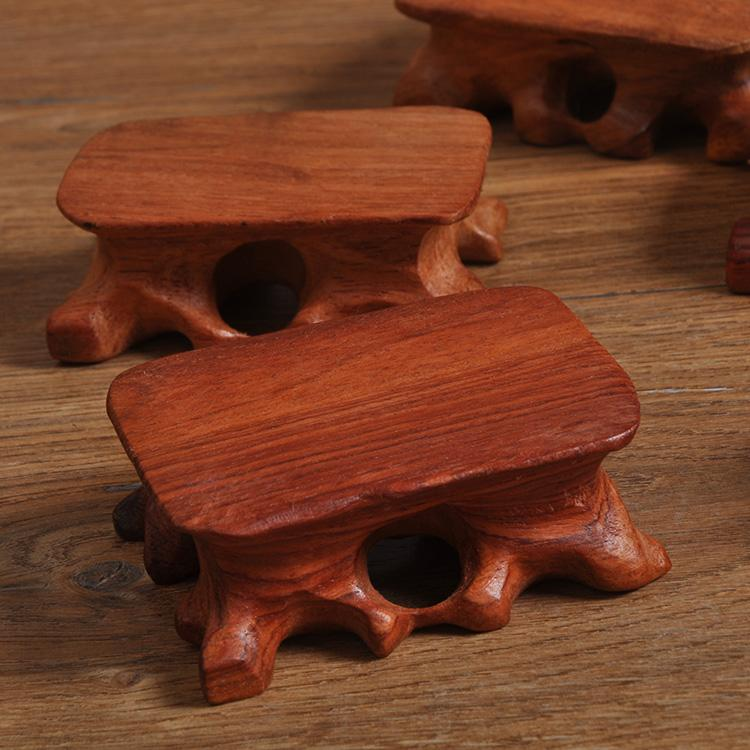 Vintage Solid Wood Stool Small Wooden Pier Small Pieces of Wood Photo Taking Background Props Shop Filming Photographic Prop
