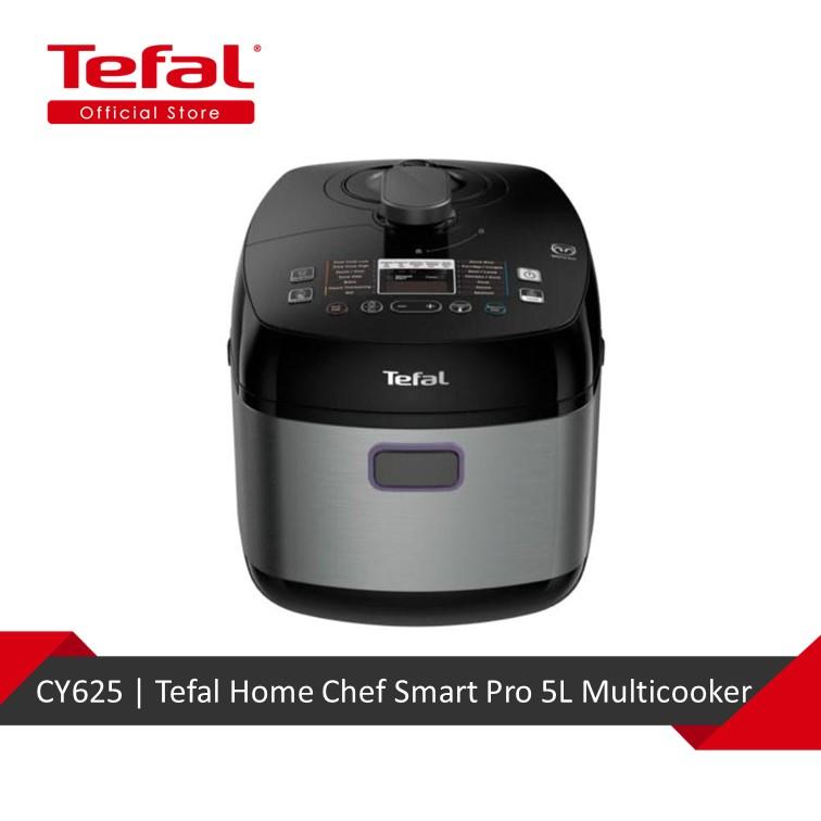 Tefal Home Chef Smart Pro 5l Multicooker Cy625 Lazada Singapore