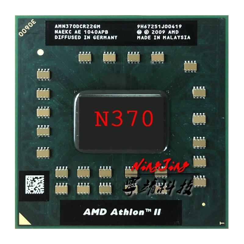 AMD Athlon II Dual-Core Mobile N370 2.5 GHz Dual-Core Dual-Thread CPU Processor AMN370DCR22GM Socket S1 CYN Store