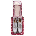 Football Shoe Bag Boxing Boots Rugby Travel Sports Carry Case Gym Storage Box-Wine Red