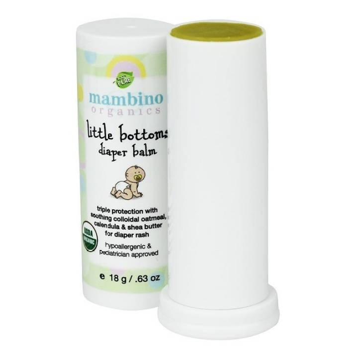 Mambino Organics Little Bottom Diaper Balm 18g