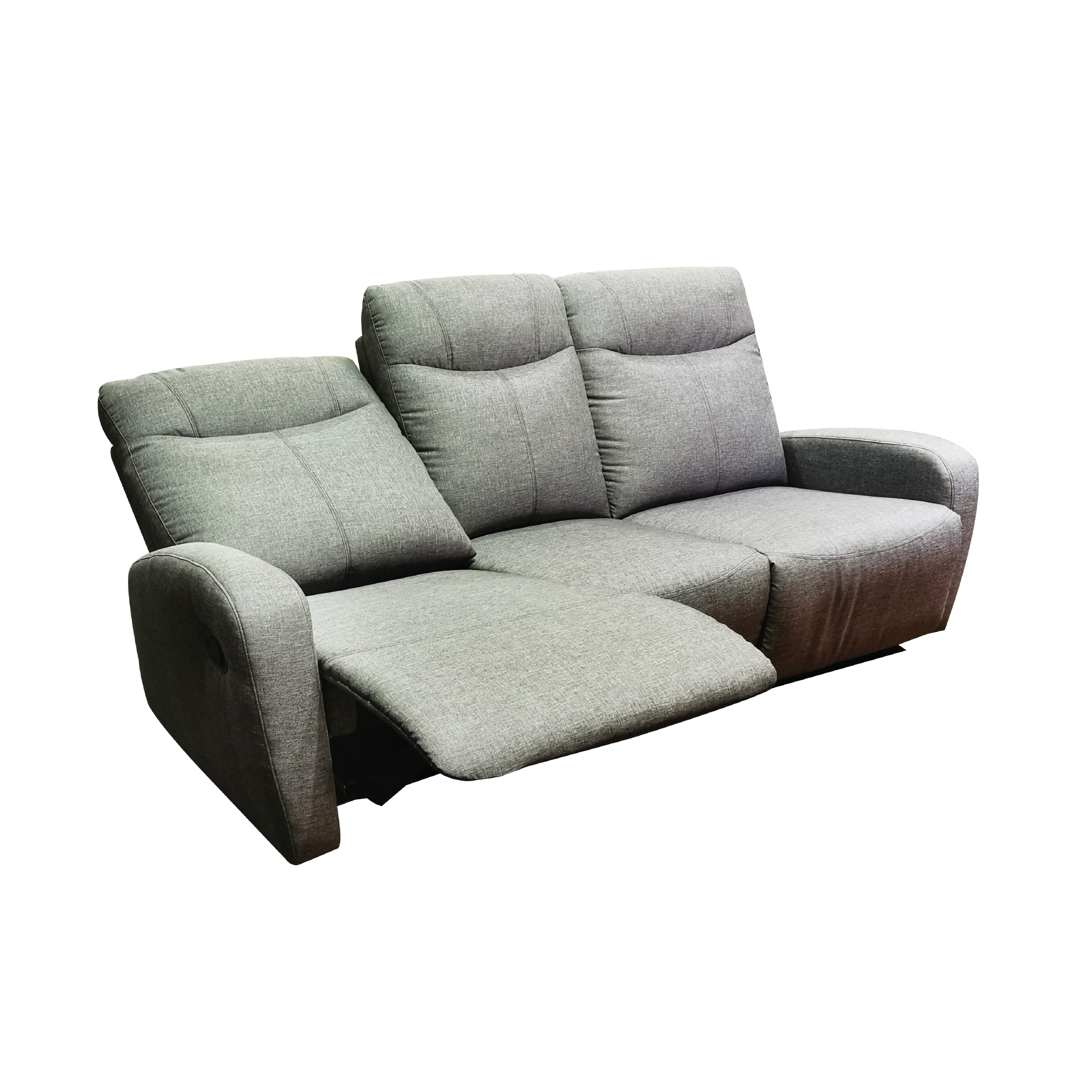 Hampton 3 Seater Recliner Sofa Fabric