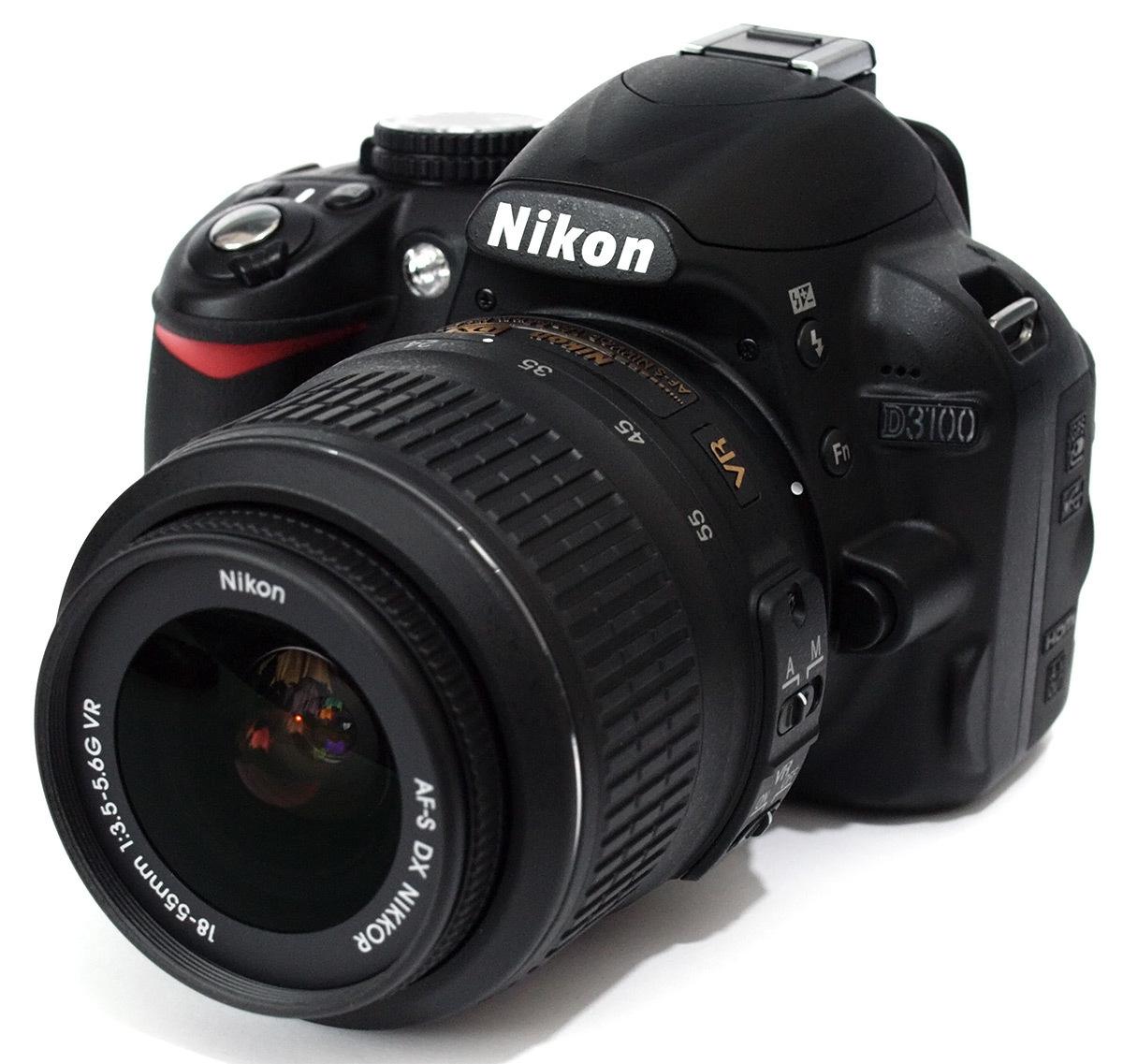 Nikon D3100 18-55mm Kit + Nikon Free Gifts