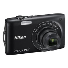 Nikon S3300 Coolpix 16.1MP 6X Optical Zoom Camera 2GB SANDISK SD CARD FREE!