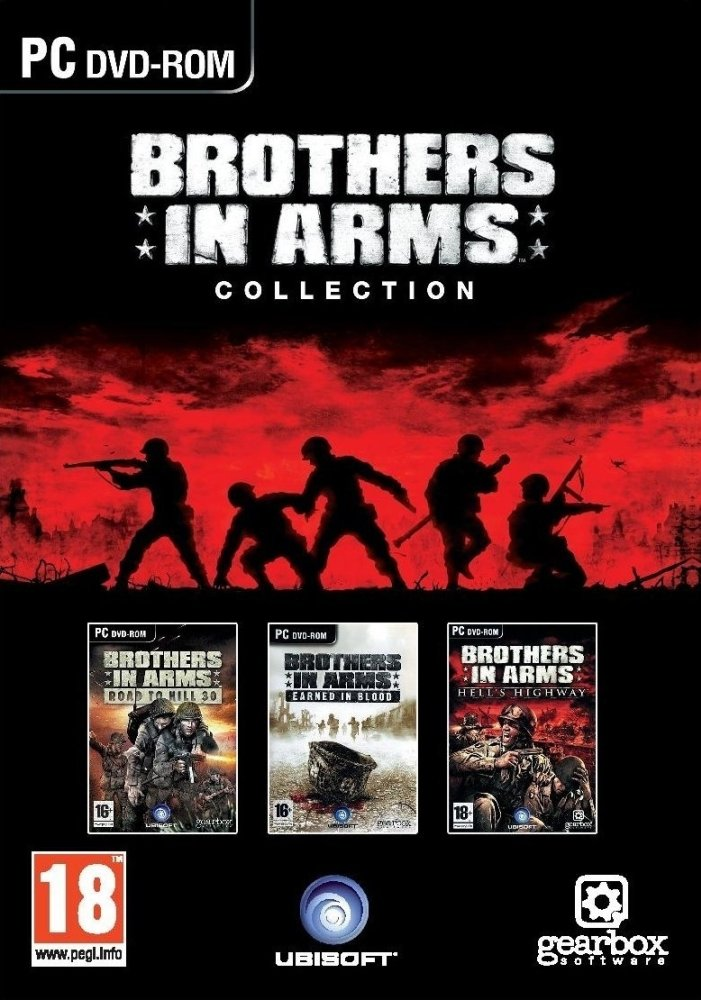 PC Brothers in Arms Collection (3 Games in 1 box)