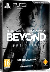PS3 Beyond Due Anime -Steelbook