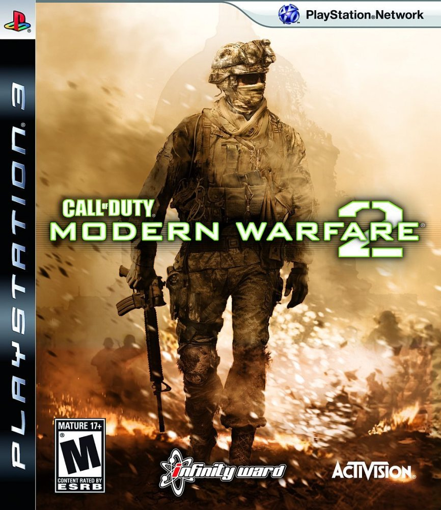 PS3 Call of Duty Modern Warfare 2 (NOTE: Not in English gameplay)