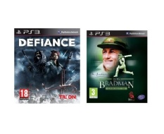 PS3 Defiance + PS3 Don Bradman Cricket 14