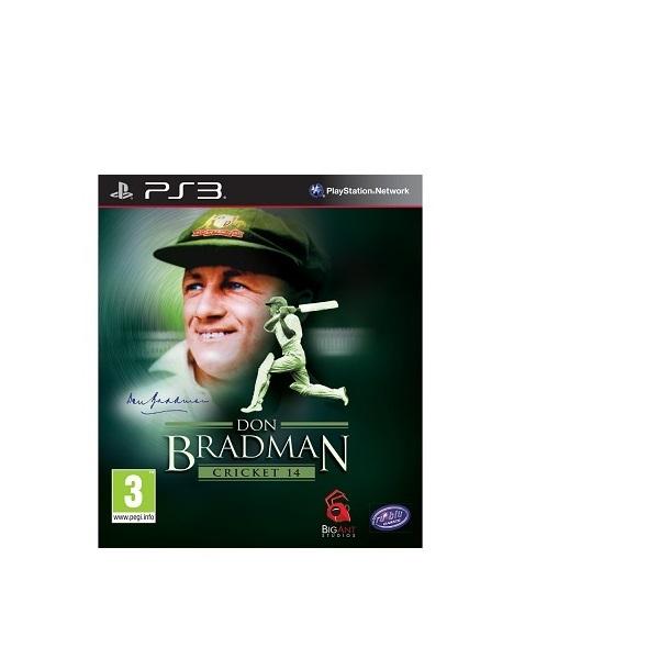 PS3 Don Bradman Cricket 14