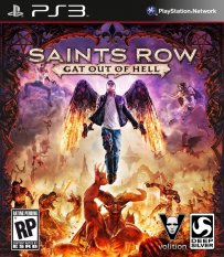 PS3 Saints Row Gat Out Of Hell First Edition